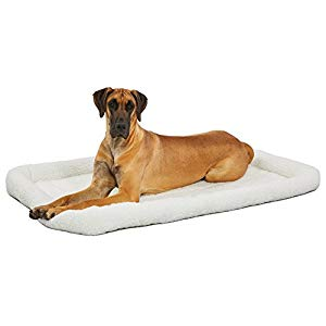 (Best Dog Crate Beds) MidWest Deluxe Bed for Dogs & Cats