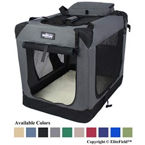 (Best Soft Dog Crates) EliteField 3-Door Dog Crate